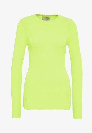 HOT KASTINA - Trui - neon yellow