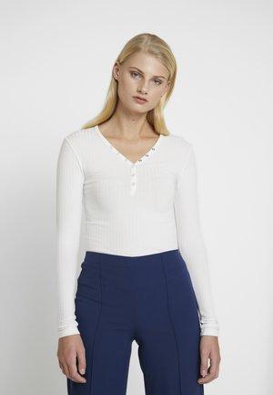 TAROLLA - Maglietta a manica lunga - ecru