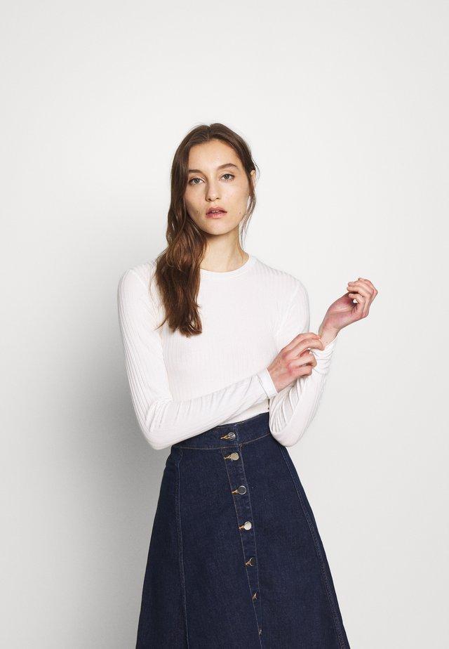 TUBA - Long sleeved top - ecru