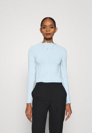 TRUTTE - Maglietta a manica lunga - light blue