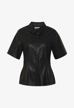 SHILA - Camisa - black