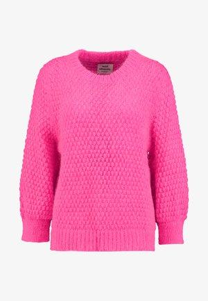 SIGNAL KRANOLA - Strikkegenser - neon pink