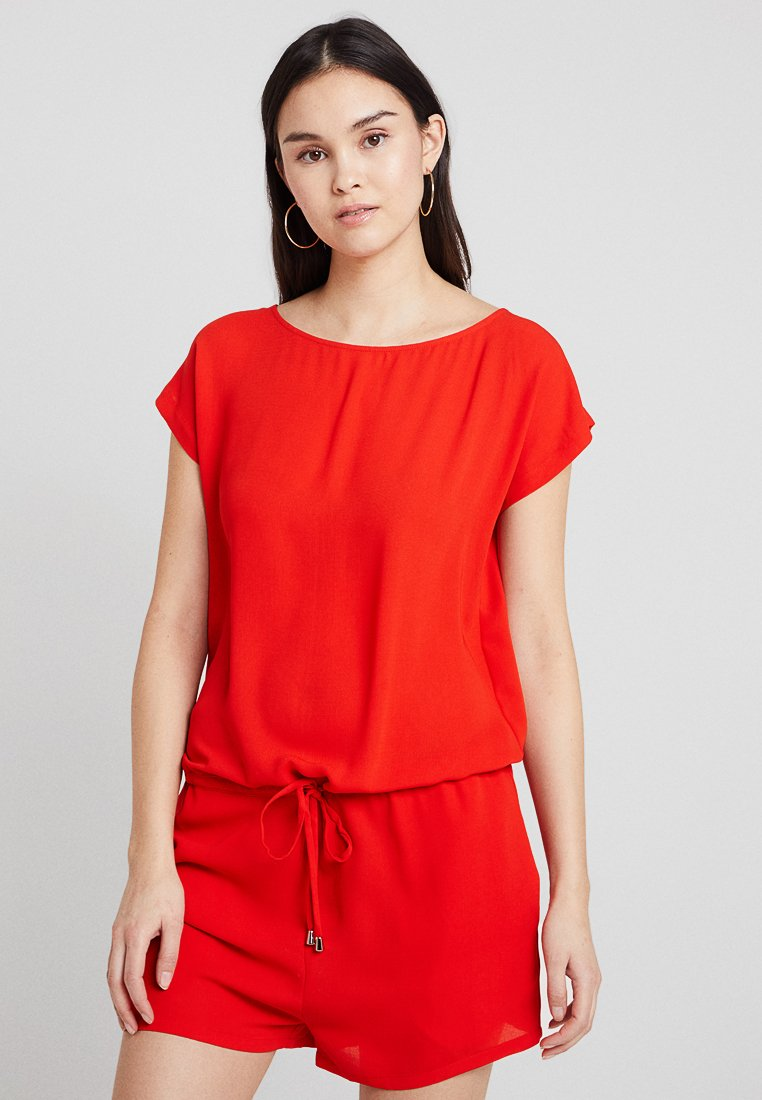 Mads Nørgaard - CAVI SHORT - Jumpsuit - warm red