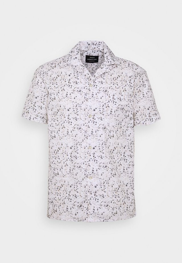 ROCK PRINT - Hemd - white
