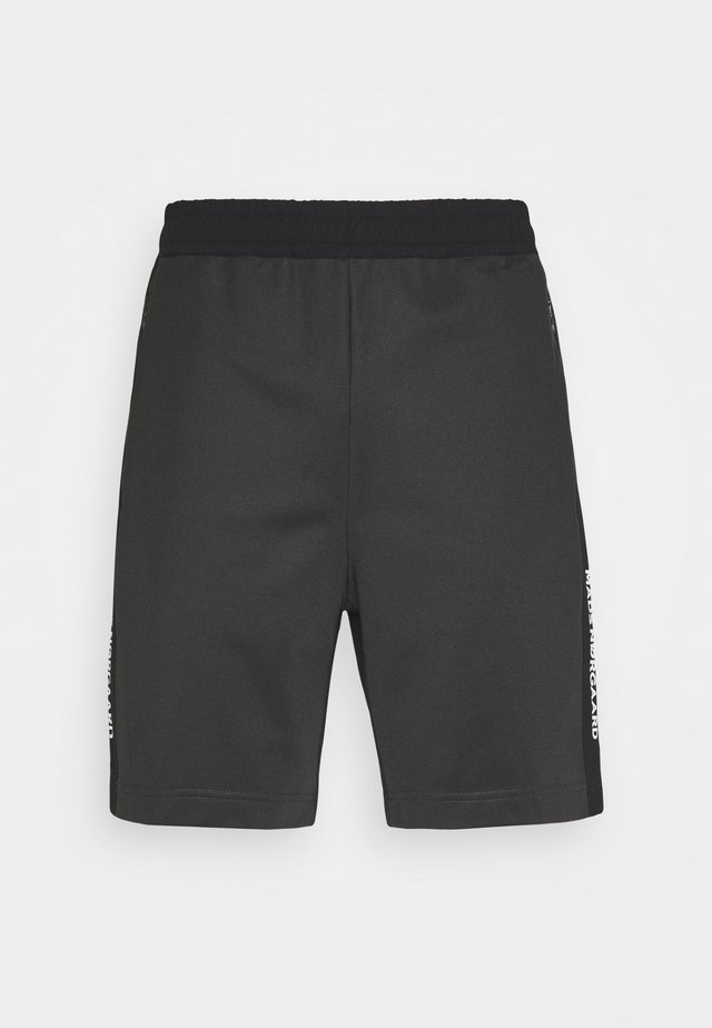 TECH TAPE PANS - Shortsit - black/grey