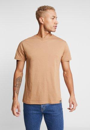 THOR - T-shirt basic - tabacco brown