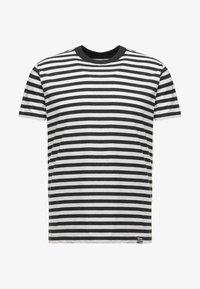 Mads Nørgaard - MIDI THOR - T-shirts print - charcoal melange/white - 4