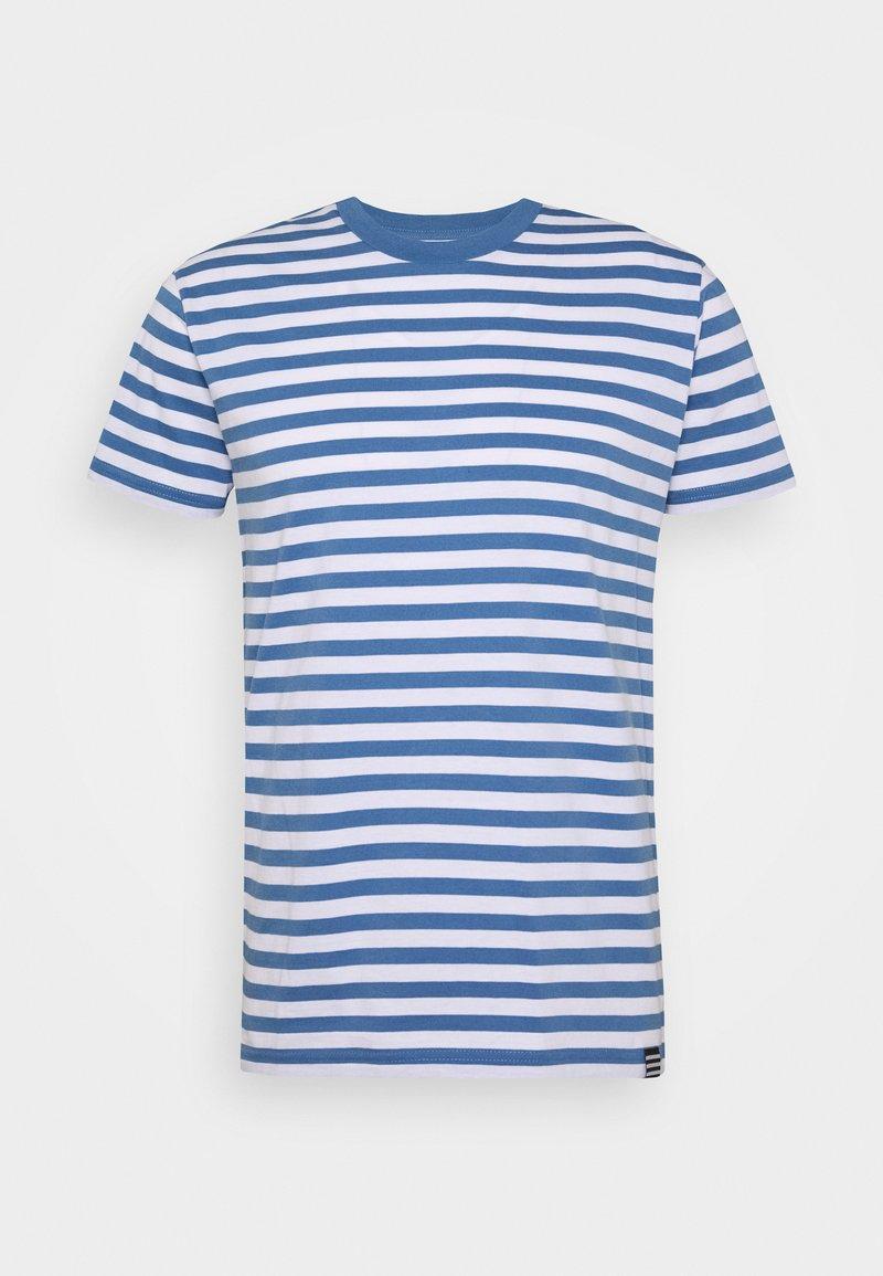 Mads Nørgaard - MIDI THOR - T-shirt z nadrukiem - white riverside