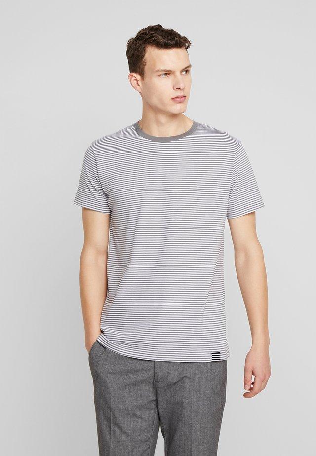 MINI THOR - T-shirt med print - granite grey/white