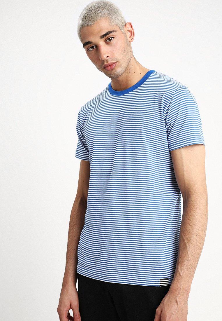 Mads Nørgaard - MINI THOR - T-Shirt print - lapis blue/white