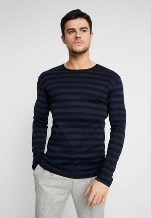 TOBIAS  - Bluzka z długim rękawem - sky captain/black