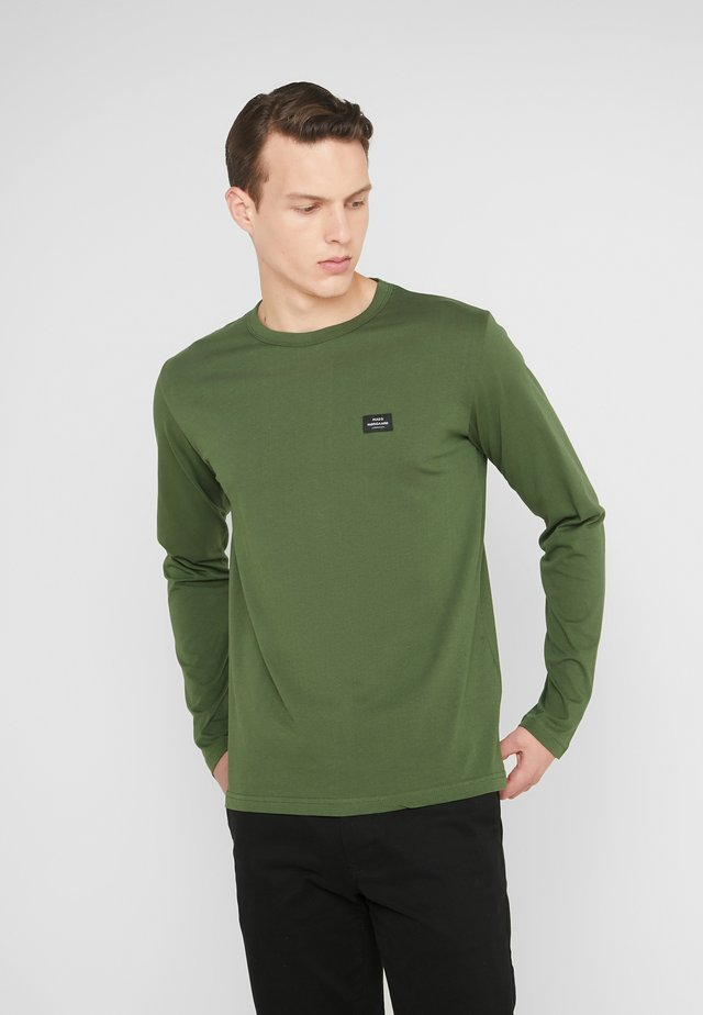 MASSA TOVOLO - Long sleeved top - rifle green