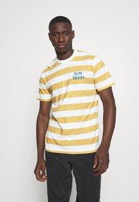 Mads Nørgaard - BEACH STRIPE TWIN - T-shirt imprimé - saragossa sea - 0