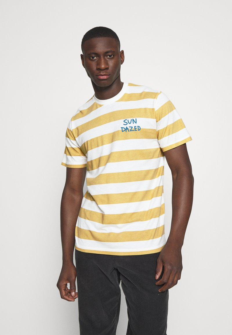 Mads Nørgaard - BEACH STRIPE TWIN - T-shirt imprimé - saragossa sea