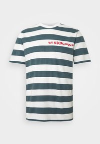 Mads Nørgaard - BEACH STRIPE TWIN - T-shirt imprimé - blue - 4