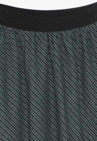 Mads Nørgaard - SAILOR GLAM SAGALINA - A-line skirt - black/petrol - 3