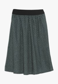 Mads Nørgaard - SAILOR GLAM SAGALINA - A-line skirt - black/petrol - 0