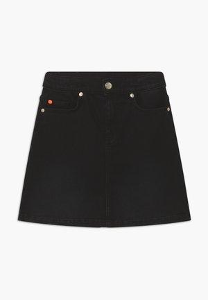 A-snit nederdel/ A-formede nederdele - black denim
