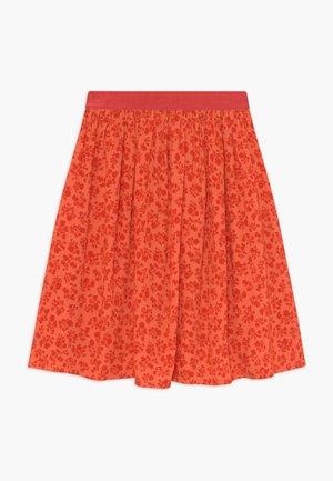 FLOWER JAM SAGALINA - A-line skirt - red
