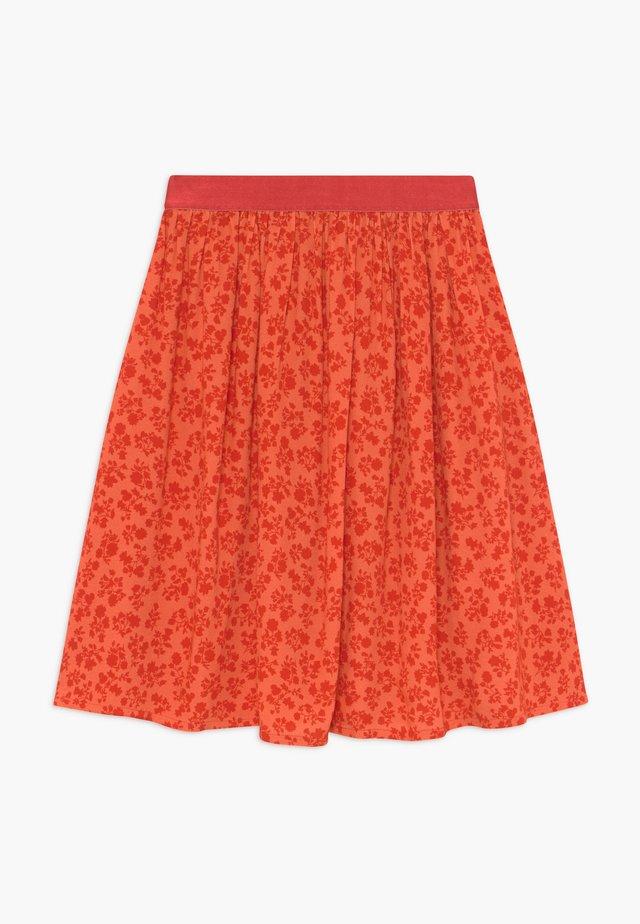 FLOWER JAM SAGALINA - A-snit nederdel/ A-formede nederdele - red