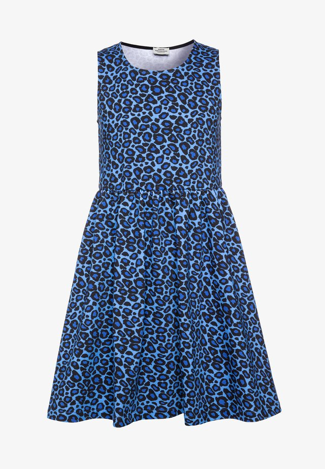 PRINTED ORGANIC OLIVIA - Day dress - blue