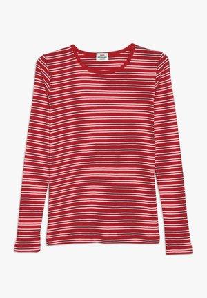 DUO STRIPE TALINO - T-shirt à manches longues - brightened white