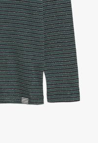 Mads Nørgaard - SAILOR GLAM TUVINA LONG  - T-shirt à manches longues - black/petrol - 3