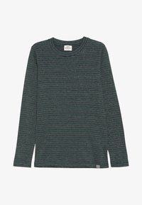 Mads Nørgaard - SAILOR GLAM TUVINA LONG  - T-shirt à manches longues - black/petrol - 2
