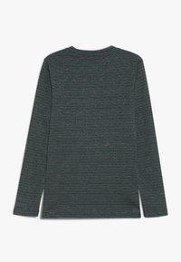 Mads Nørgaard - SAILOR GLAM TUVINA LONG  - T-shirt à manches longues - black/petrol - 1
