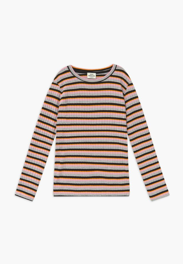 DREAM STRIPE TALIKA - Langærmede T-shirts - rose multicolor