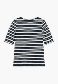 Mads Nørgaard - DREAM STRIPE TUVIANA - T-shirts print - navy - 1
