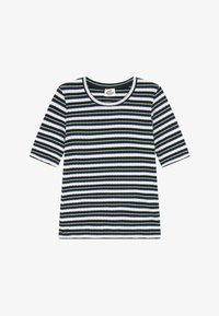 Mads Nørgaard - DREAM STRIPE TUVIANA - T-shirts print - navy - 2