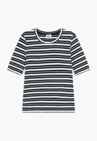 Mads Nørgaard - DREAM STRIPE TUVIANA - T-shirts print - navy - 0