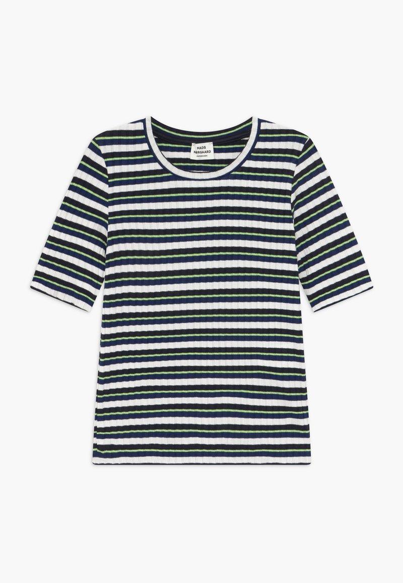 Mads Nørgaard - DREAM STRIPE TUVIANA - T-shirts print - navy