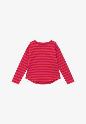 BRETAGNE ORGANIC THILKELINA - Jersey de punto - pink /red
