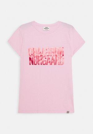 DIP TUVINA - T-shirt z nadrukiem - soft pink
