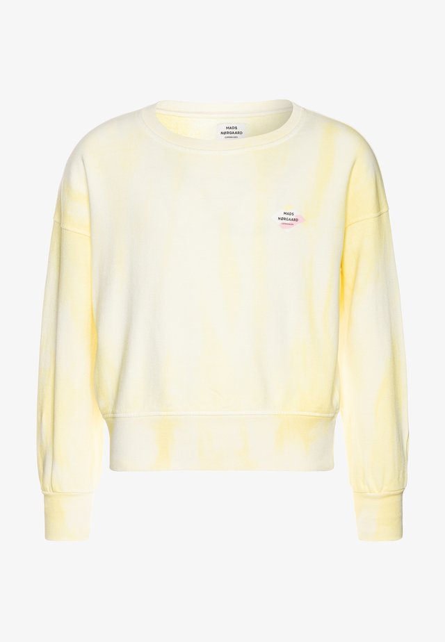 ORGANIC TILINA - Sweatshirt - soft yellow