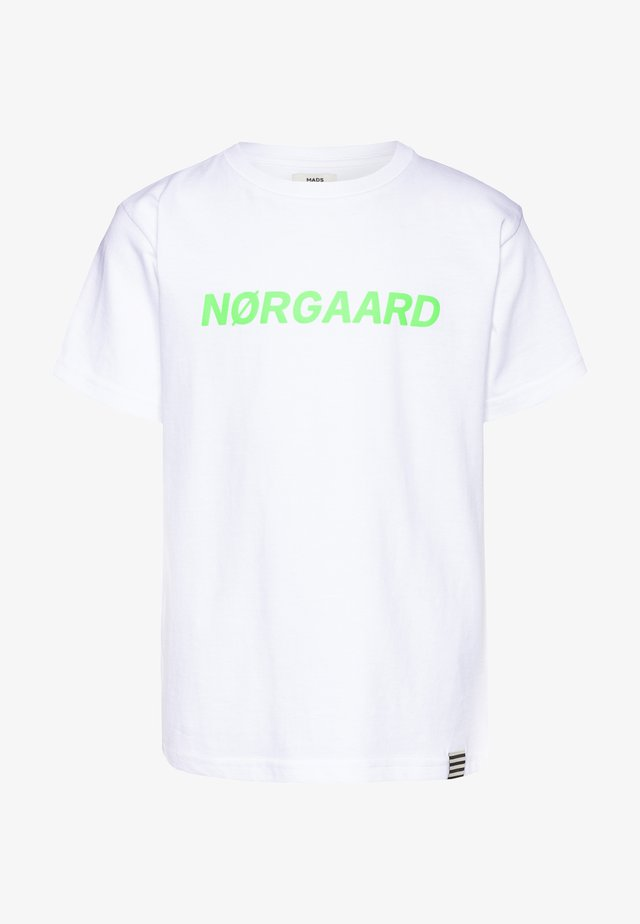 PRINTED TEE THORLINO - T-shirts med print - white
