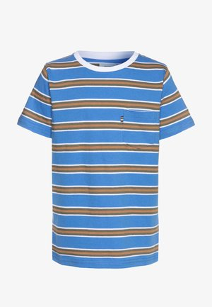 SUMMER STRIPE TROLINO - Print T-shirt - palace blue