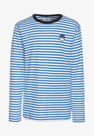 DUO TOBINO LONG - Long sleeved top - palace blue/silver/sky captain