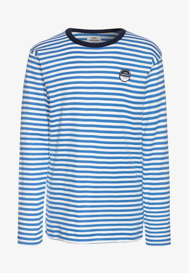 DUO TOBINO LONG - Top s dlouhým rukávem - palace blue/silver/sky captain