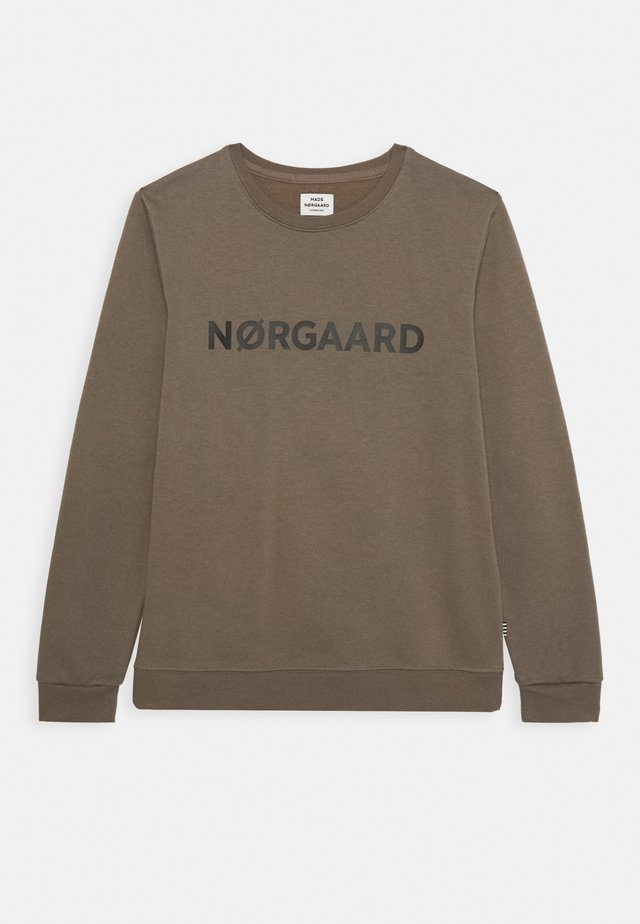ORGANIC SOLOMINO - Sweatshirts - morel