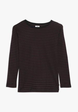 TOBINO  - T-shirt à manches longues - black/sassafras