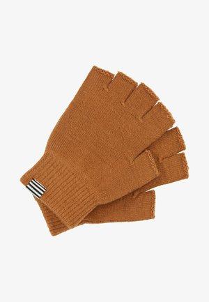 ISAK ANDELA - Rukavice bez prstů - deep beige