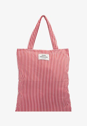 ATOMA - Shoppingveske - red/white