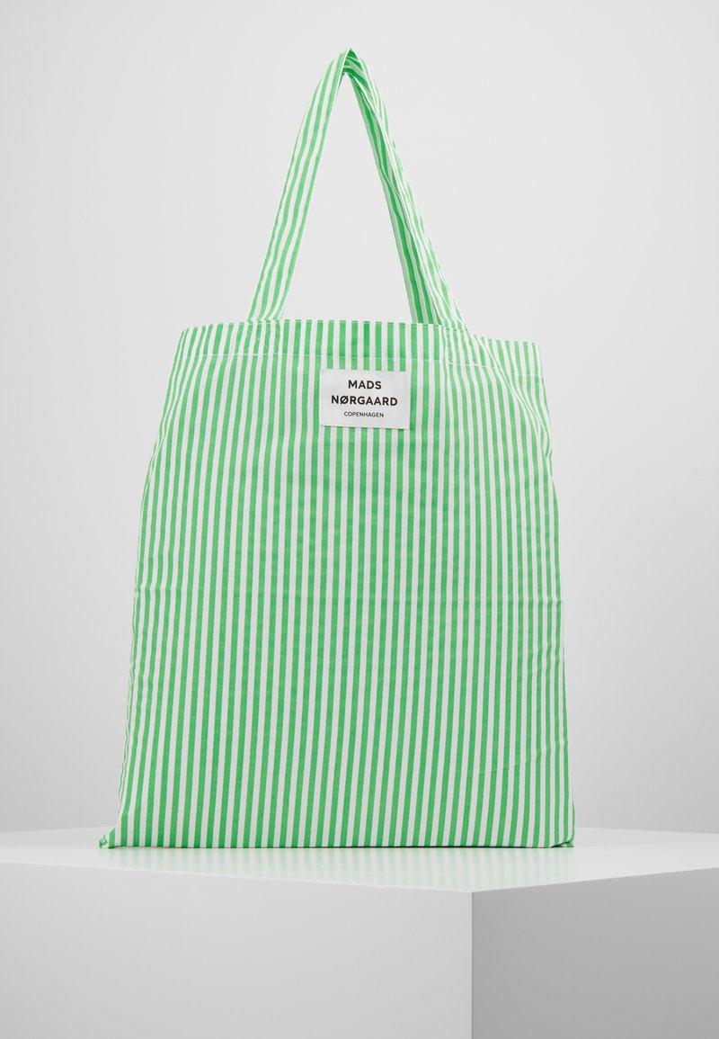 Mads Nørgaard - ATOMA - Tote bag - white/green