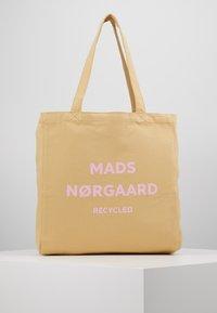Mads Nørgaard - BOUTIQUE ATHENE - Shopping Bag - beige/rose - 0