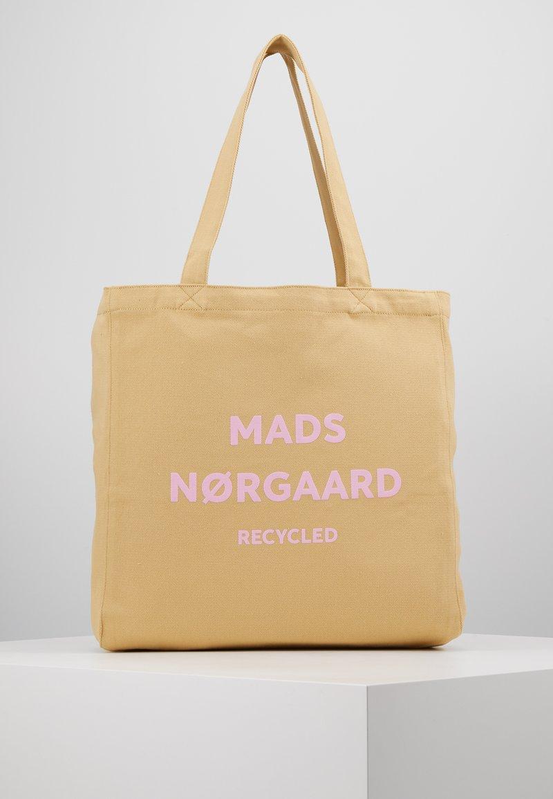 Mads Nørgaard - BOUTIQUE ATHENE - Shopping Bag - beige/rose