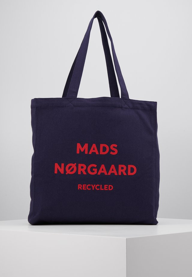 BOUTIQUE ATHENE - Shopping Bag - navy/red