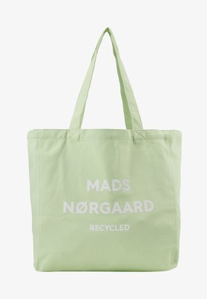 BOUTIQUE ATHENE - Tote bag - pastel green/white